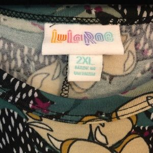 LuLaRoe Dresses - Carly Floral -NWT